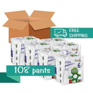 carton pillo pants extra large size 6
