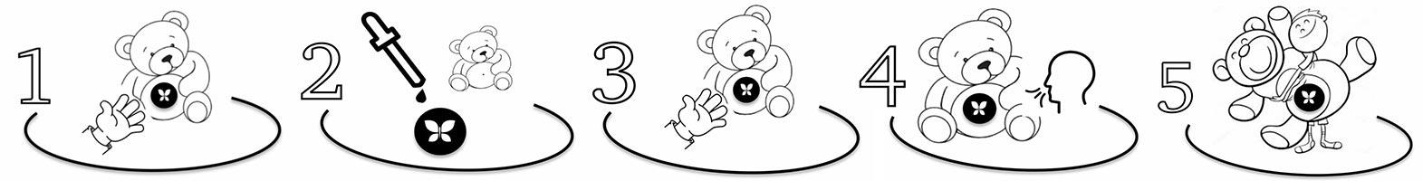how to use teddy bear